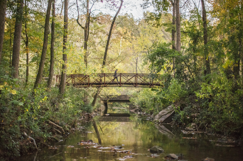 Mountain Brook, Alabama Main Bridge.