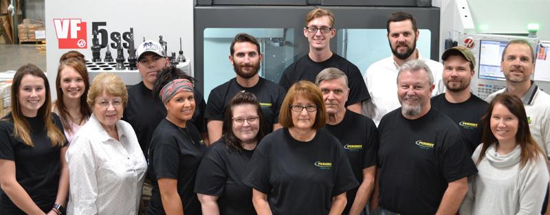 Peridot Inc. group of employees.
