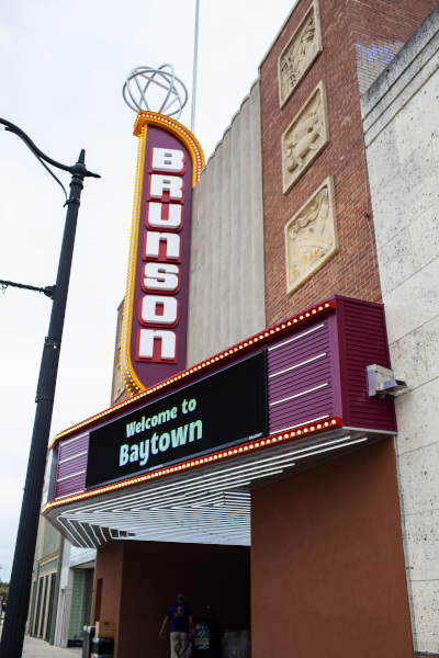 Baytown, Texas Brunson Theater.