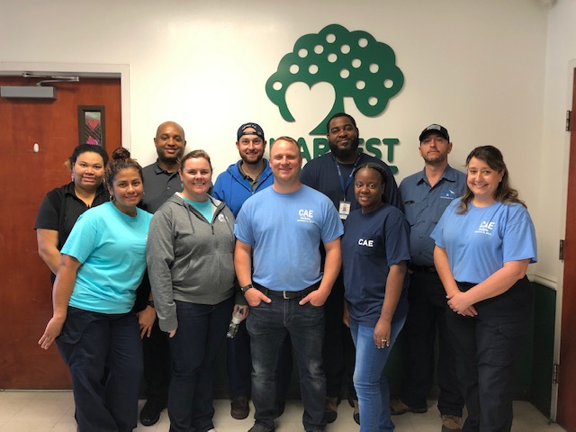 Columbia Metropolitan Airport employees giving back