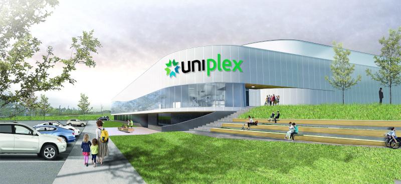 Dieppe, New Brunswick UNIplex rendering