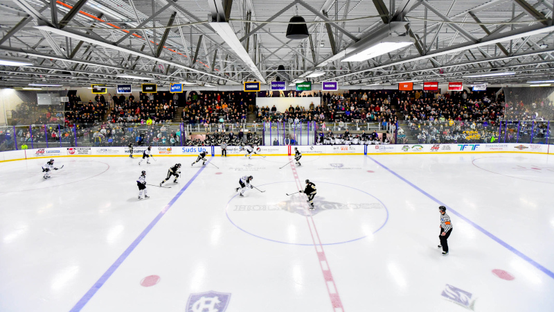 Holy Cross Crusaders Atheltics Facilities Hart Ice Hockey Arena