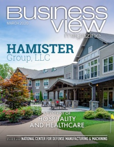March 2020 issue cover for Business View Magazine