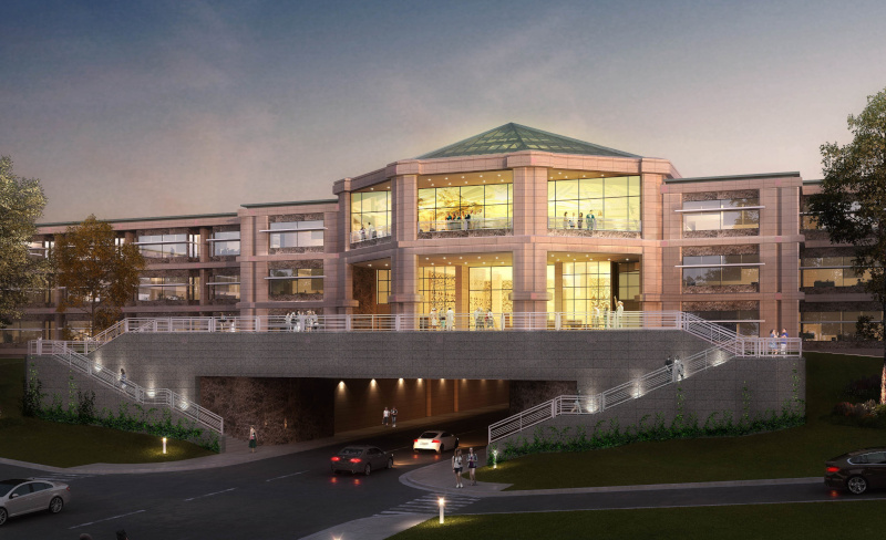 Village of Hoffman Estates, Illinois Bell Works rendering.