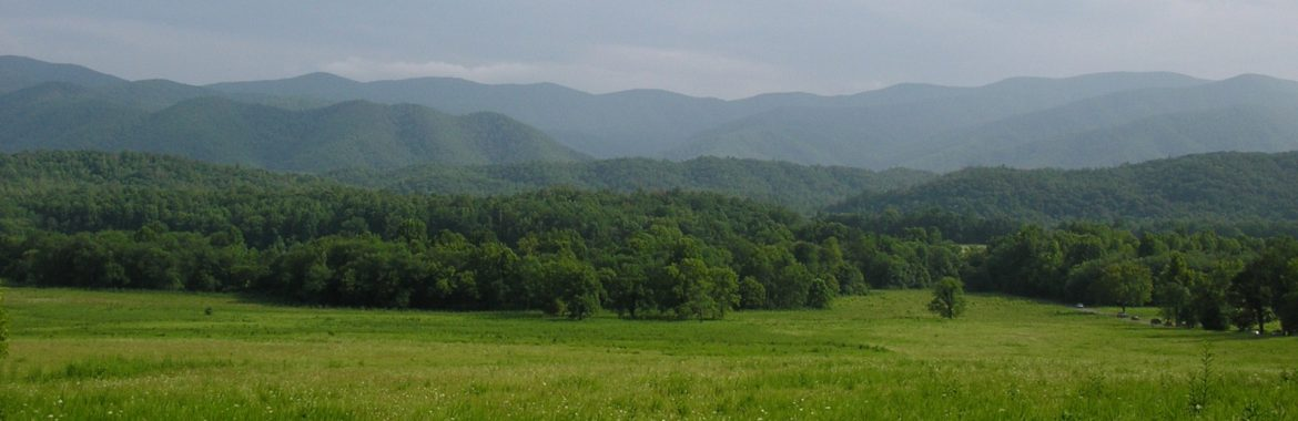 Rutherford County, Tennessee mountains.