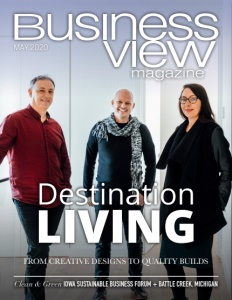 May 2020 issue cover for Business View Magazine