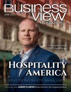 June 2020 issue cover for Business View Magazine
