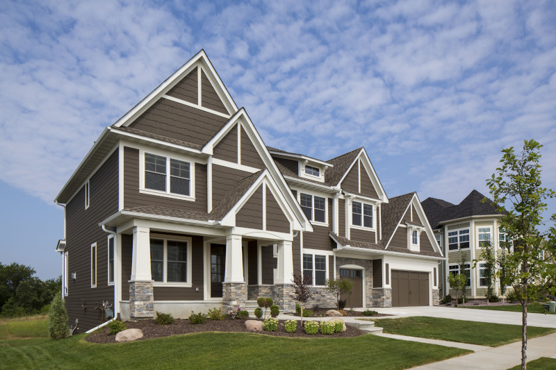 Lakeville, Minnesota SBF EastLake exterior home.