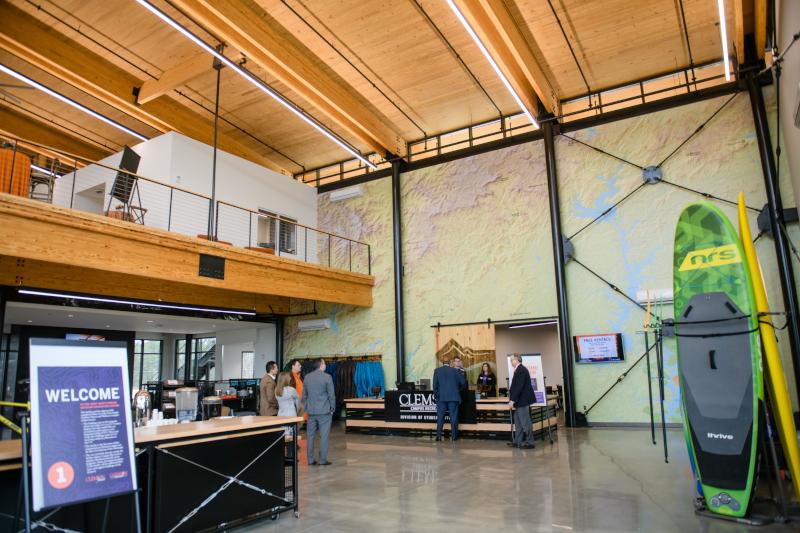 Clemson University Wood Utilization + Design Institute Quattlebaum