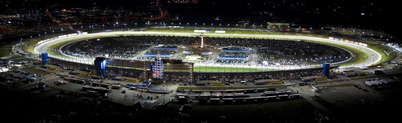 Kansas City, Kansas stadium night shot.