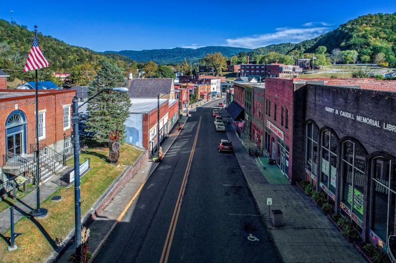 Letcher County, Kentucky street view.