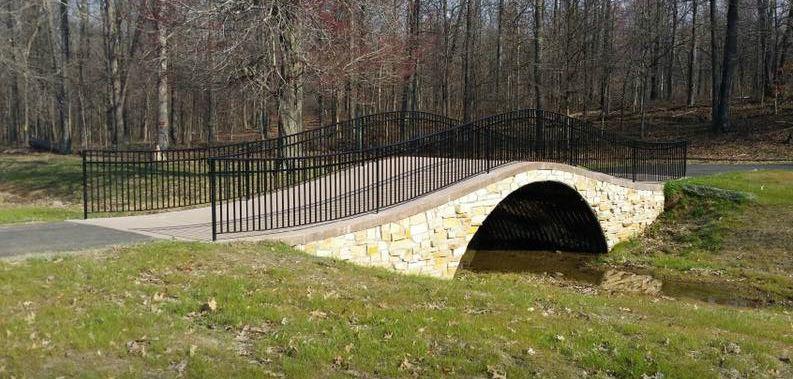 Madisonville, Kentucky Mahr Park bridge