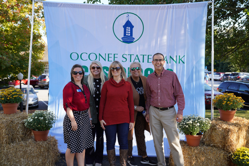 Oconee State Bank group photo CAD team.