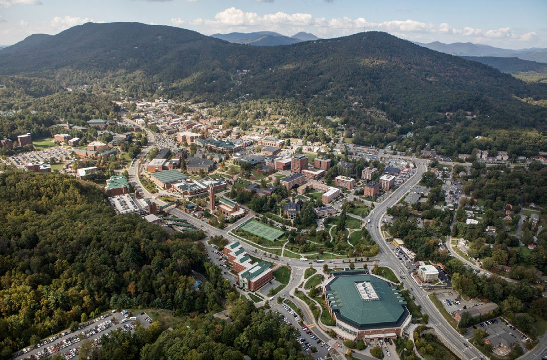 Watauga County North Carolina Aerial