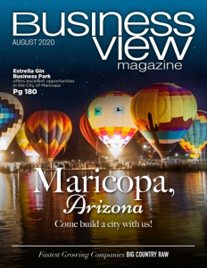 August 2020 Issue cover business view magazine