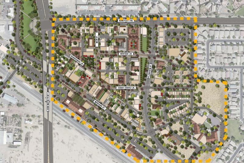 Maricopa, Arizona Maricopa Station Concept Plan