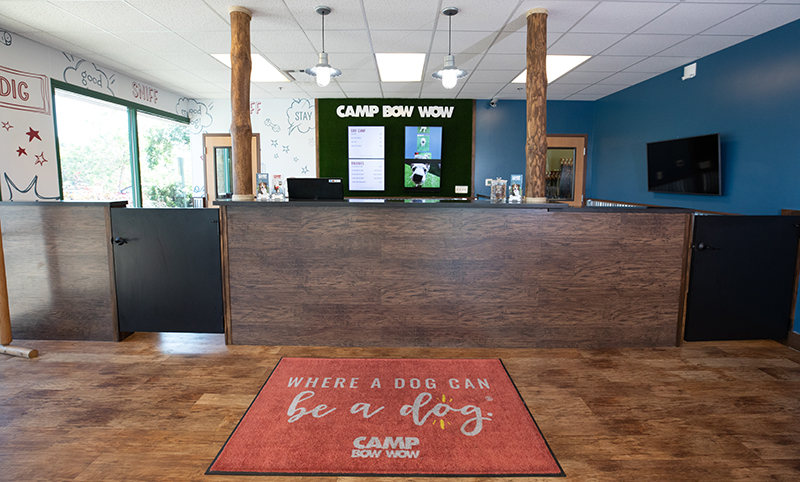 Camp Bow Wow office