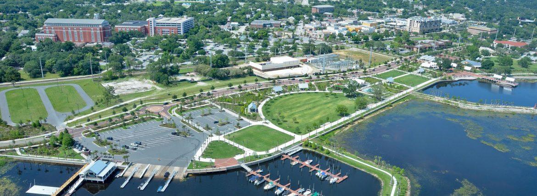 Kissimmee FL aerial