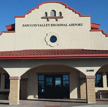 San Luis Valley Regional Airport fascade