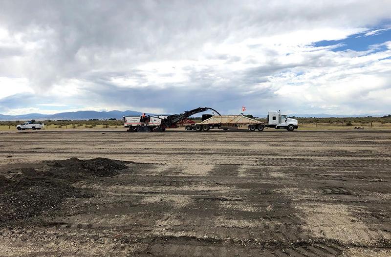 San Luis Valley Regional Airport reconstruction