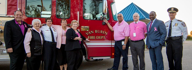 Van Buren Township Fire Truck 2017-8306