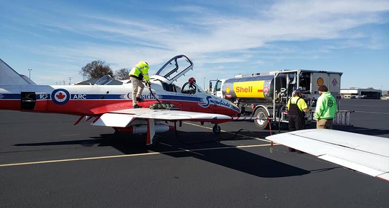 MCKELLAR–SIPES REGIONAL AIRPORT Jet
