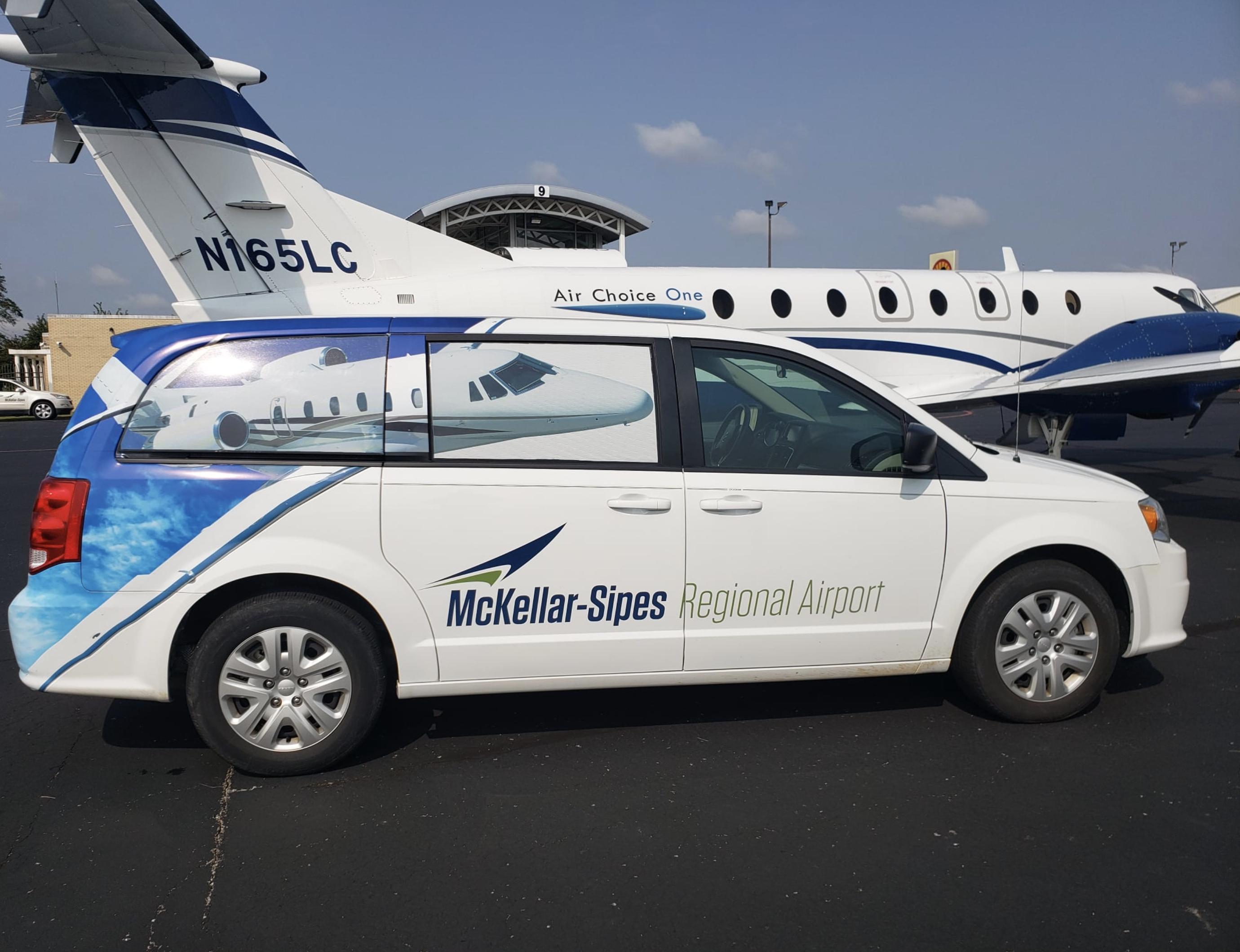 MCKELLAR–SIPES REGIONAL AIRPORT Van