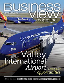 October 2020 issue cover for Business View Magazine