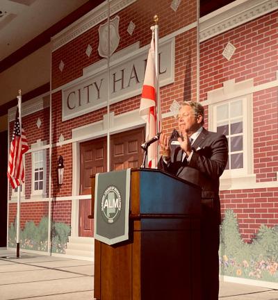 Alabama League of Municipalities Greg Cochran July Convention