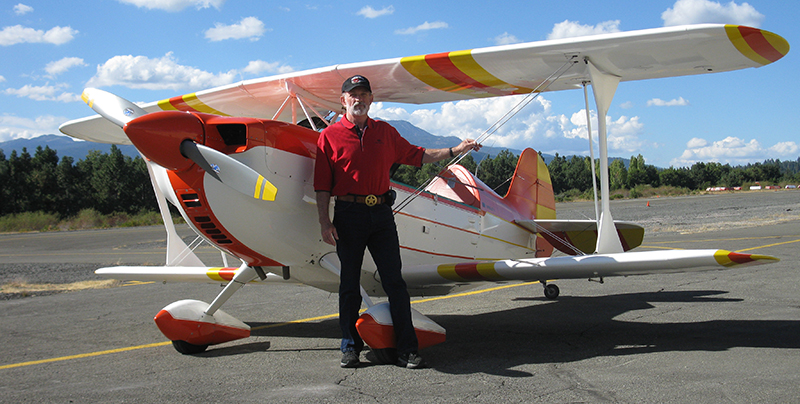 Ed Miller and his Christen Eagle II