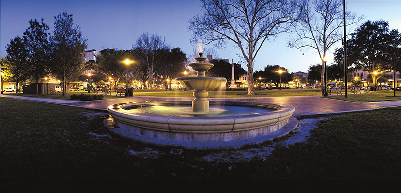 Lakeland Florida Fountain