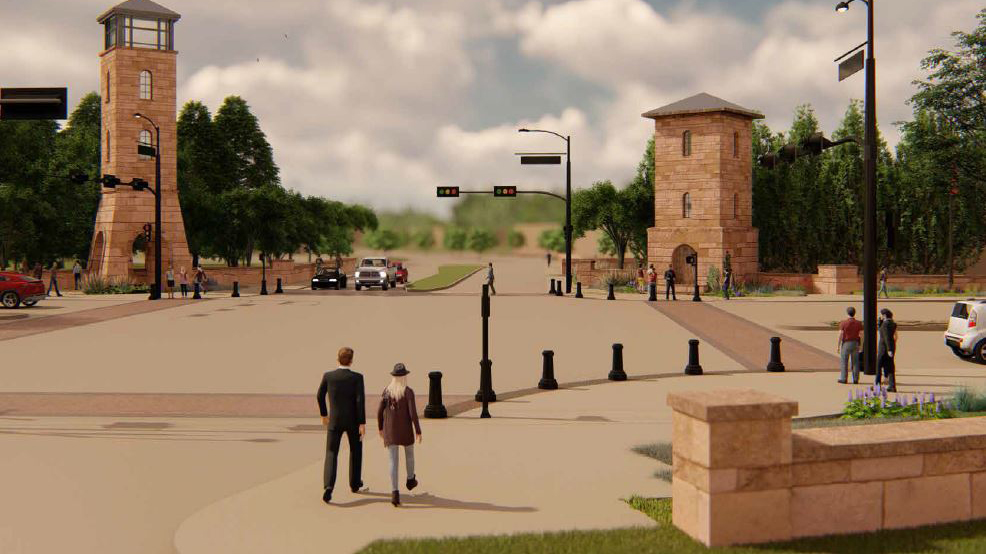 Colleyville Main-St-concept rendering