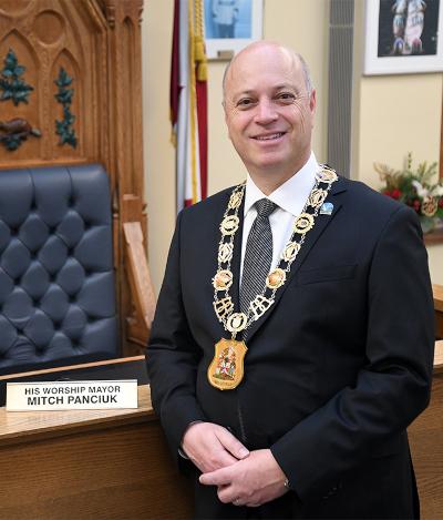 Belleville, Ontario Mayor, Mitch Panciuk