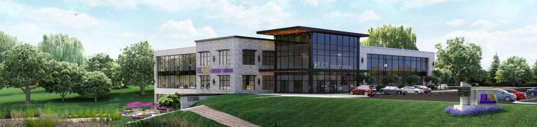 Elga Credit Union Grand Blanc Headquarters Rendering.