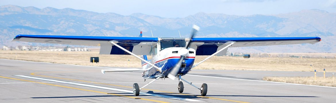 Rocky Mountain Airport NIFA competition US Air Force Academy plane landing October 2019