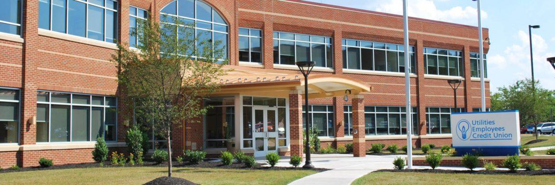 Utilities Employees Credit Union building exterior.