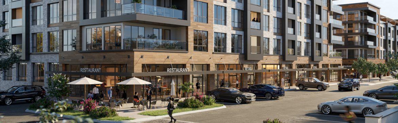 Belleville, New Jersey NW Corner rendering