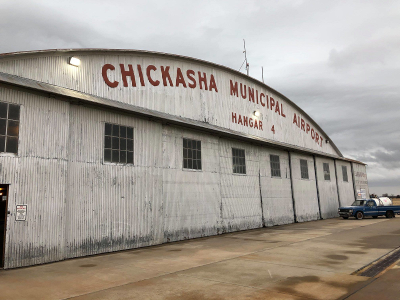 Chickasha, Oklahoma Chickasha Municipal Airport building