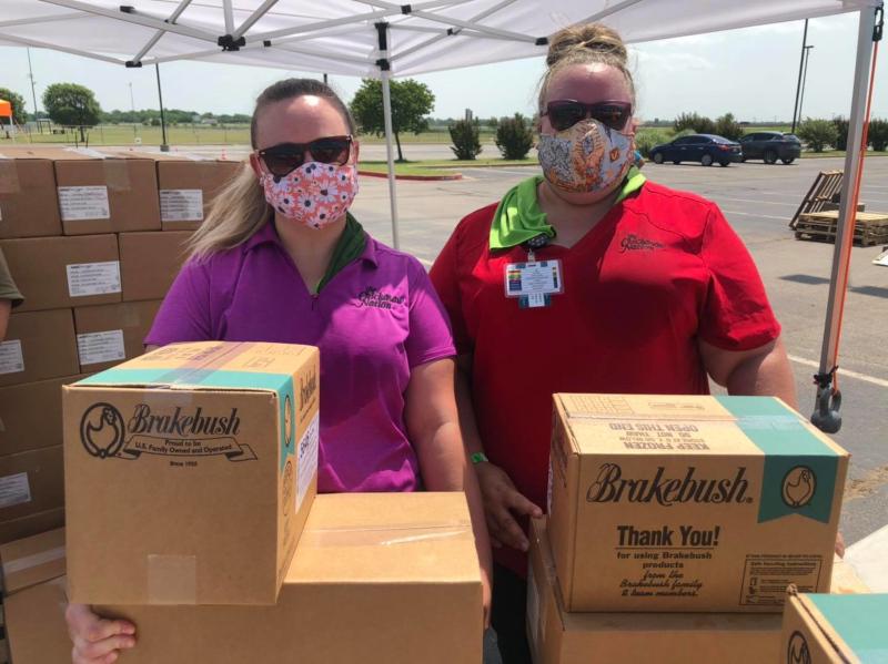 Chickasha, Oklahoma volunteers