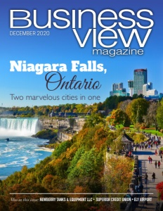 December 2020 issue cover for Business View Magazine