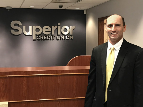 Superior Credit Union CEO of Midwest Federal Credit Union, Phil Buell