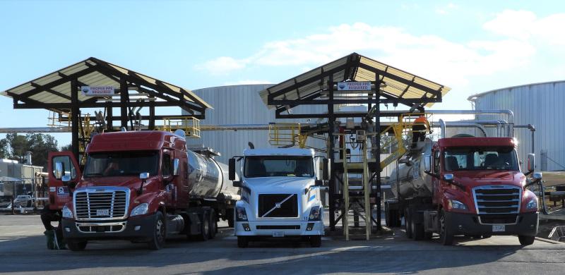 Chemserve Terminal truck service