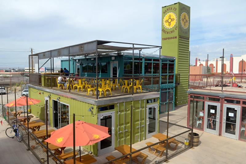New Mexico Partnership Santa Fe Brewing Co building exterior