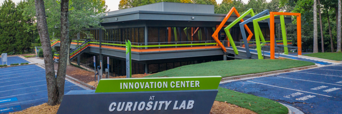 Peachtree Corners, Georgia Innovation Center at Curiosity Lab building exterior