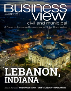 January 2021 issue cover for Business View Civil and Municipal