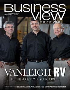 January 2021 Issue cover of Business View Magazine