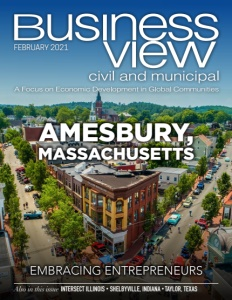 February 2021 issue cover for Business View Civil and Municipal