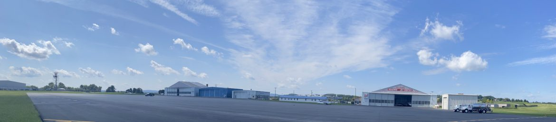 Reading Regional Airport landscape view