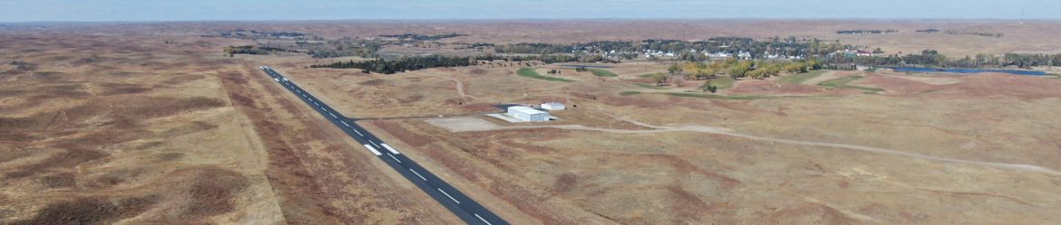 Thomas County Airport aerial view
