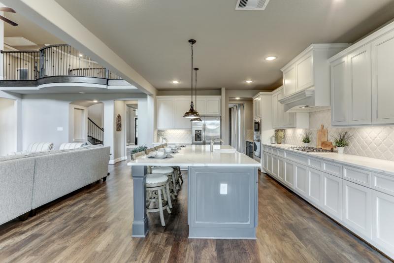 Harrisburg Homes mostyn manor kitchen